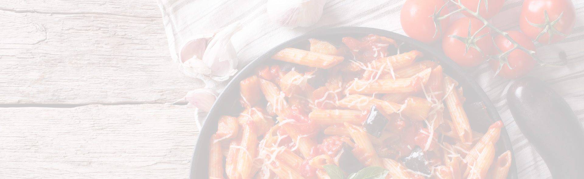 Pasta dish with tomatoes
